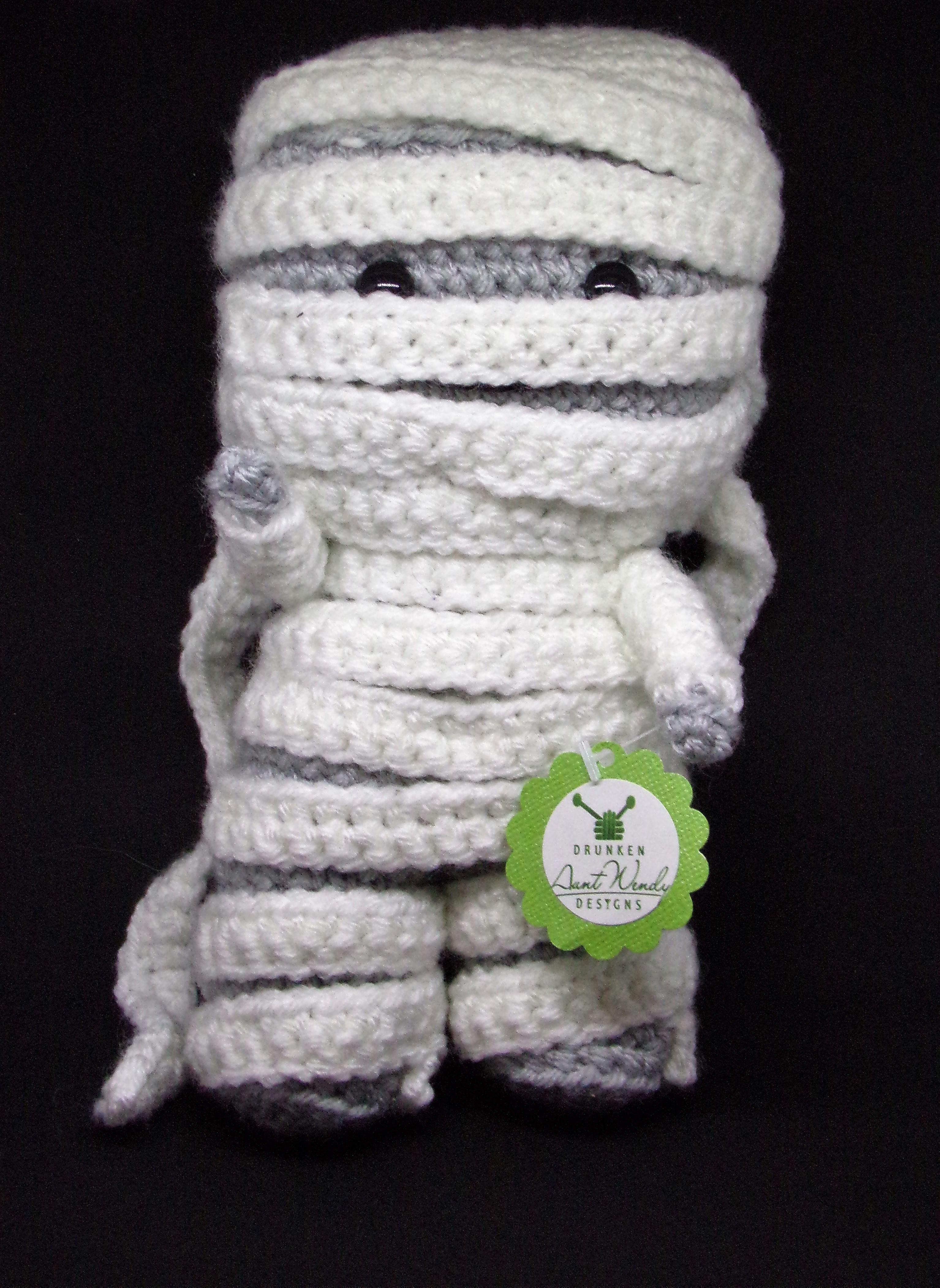 Mummy – Free Crochet Pattern