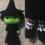 Crocheted Wicked Witch
