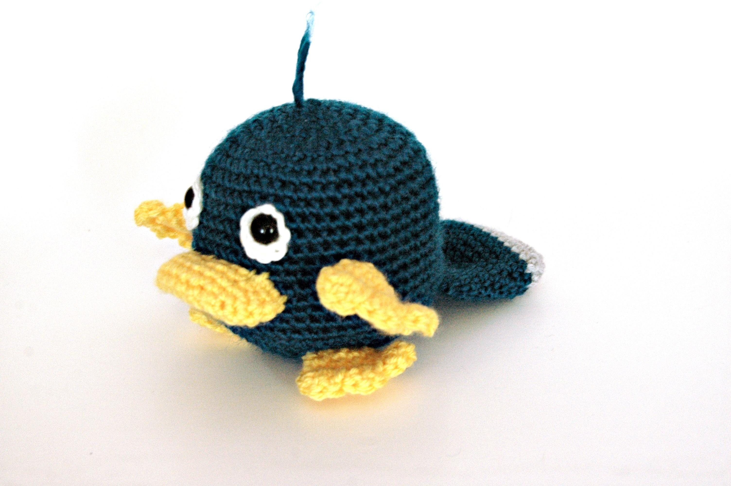 Free Crochet Pattern – Baby Platypus
