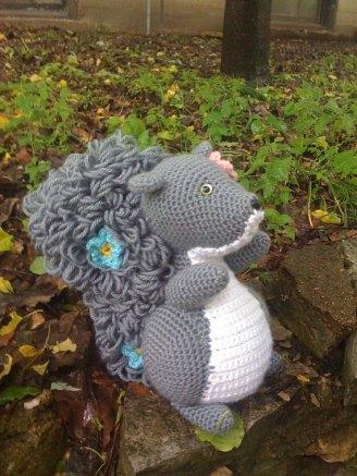 Crochet Squirrel Pattern