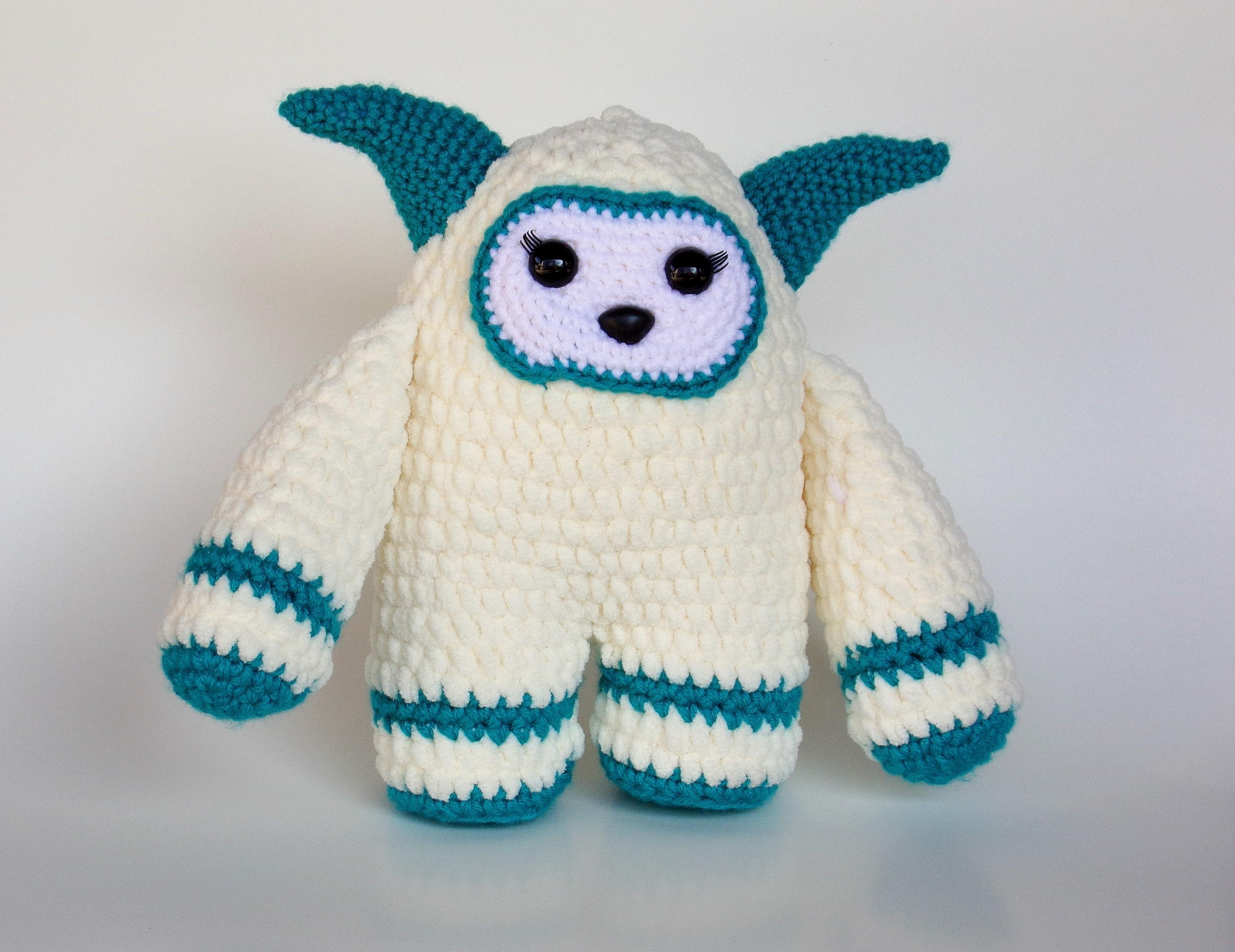 Betty the Yeti – Free Crochet Pattern