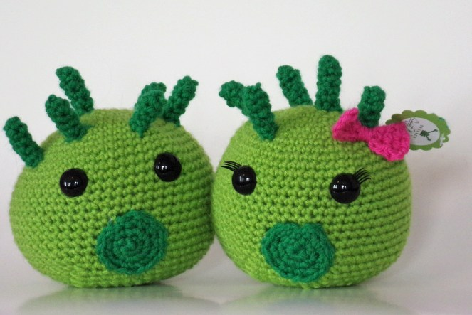 Crocheted Chlamydia Pattern