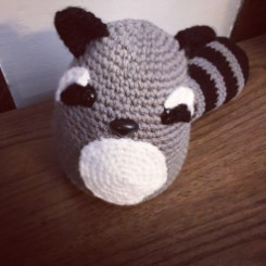 Free Crochet Pattern for a Raccoon
