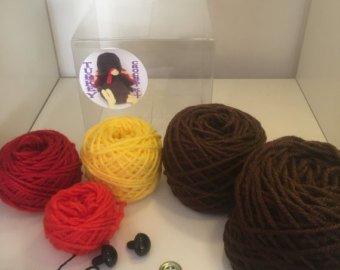 Crochet turkey kit