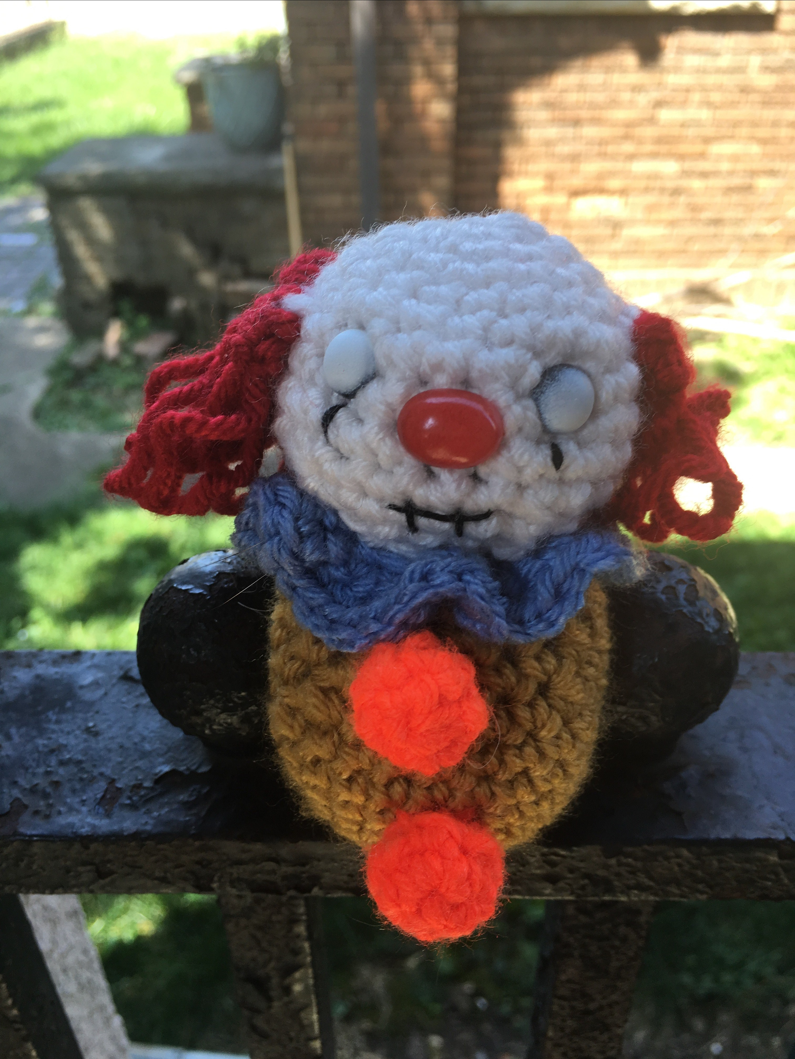 Pennywise (1990s) – Free Crochet Pattern