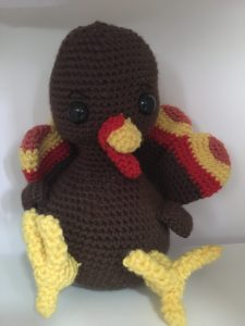 crochet turkey pattern