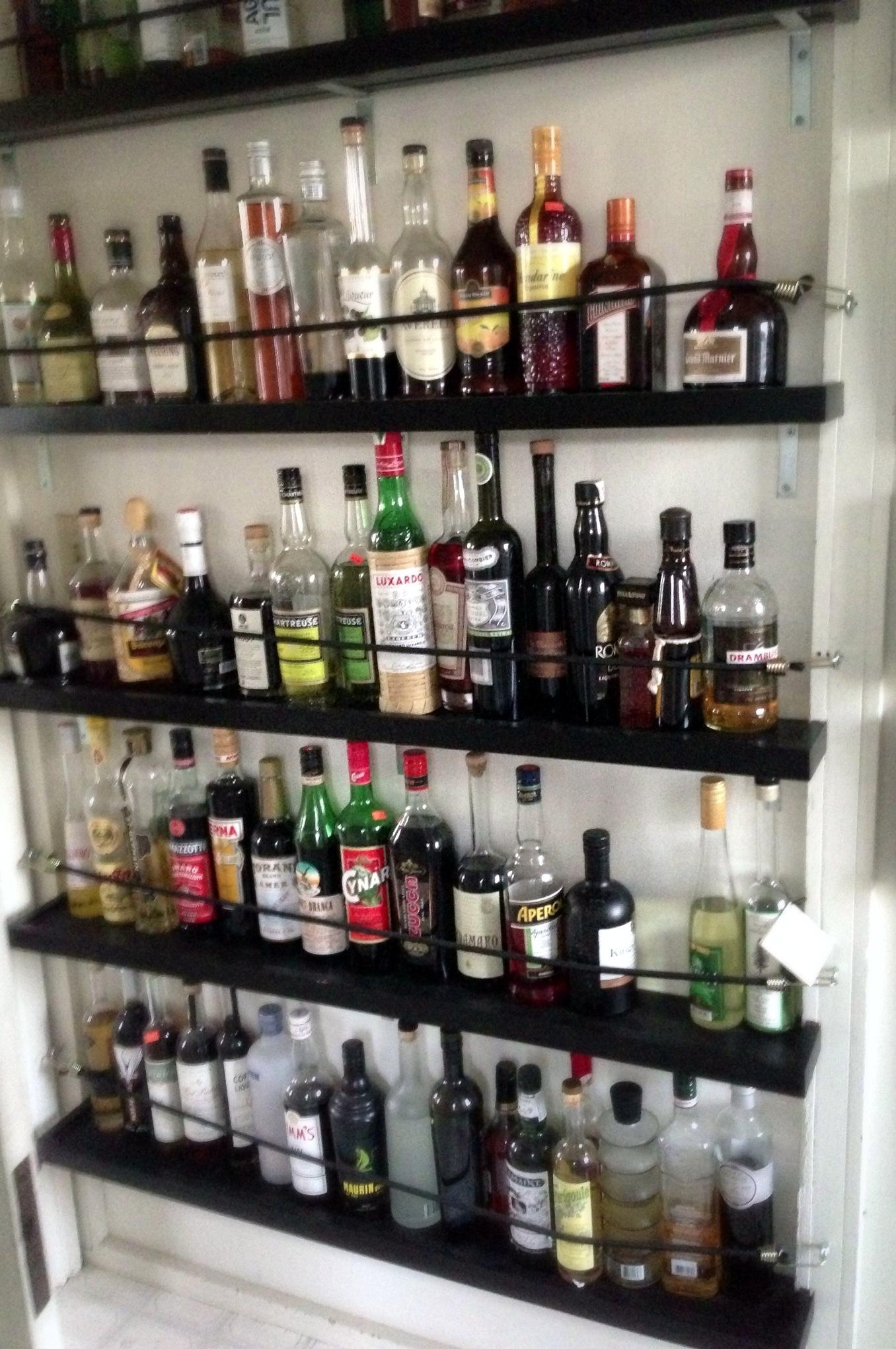 Shelving For Liquor Bottles Or How I Got My Drinking