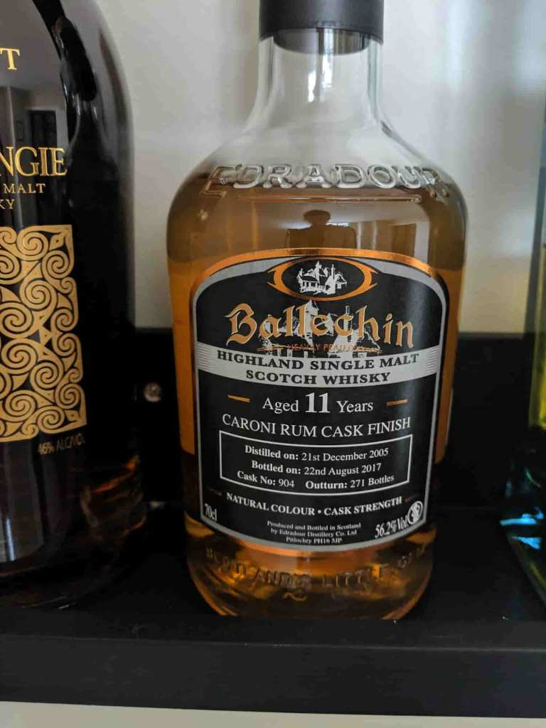 Rum Finished Ballechin