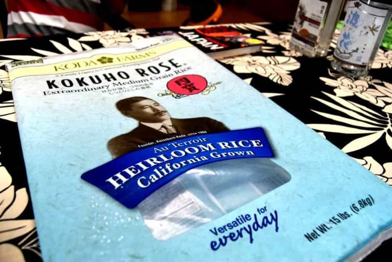 Bag of Heirloom rice