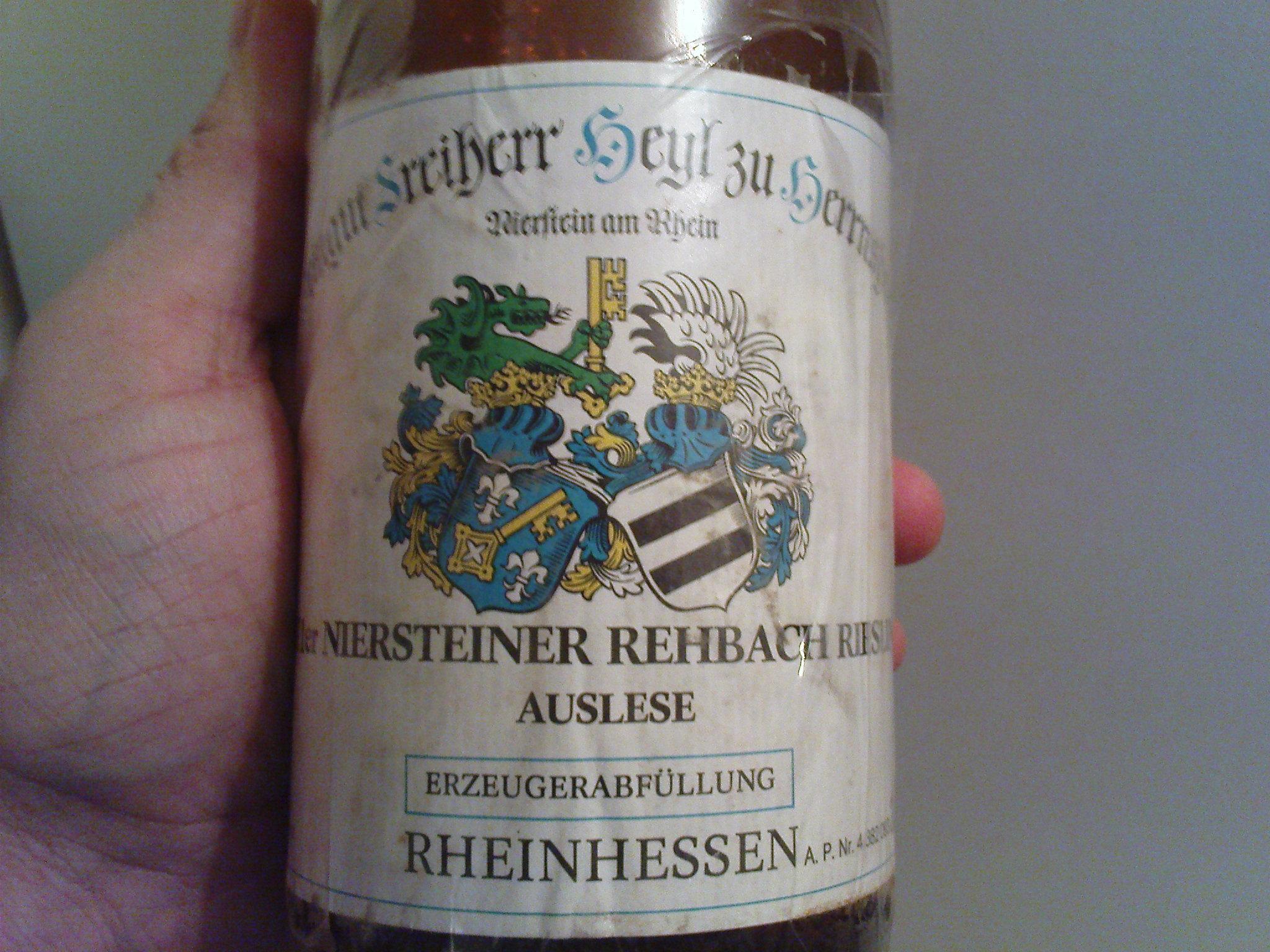 Heyl zu Herrnsheim  Riesling Auslese