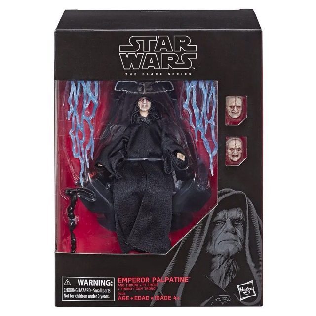 Amazon Exclusive Star Wars Black Series Emperor Palpatine Hasbro Releases New Official Promo Images Drunkwooky Com