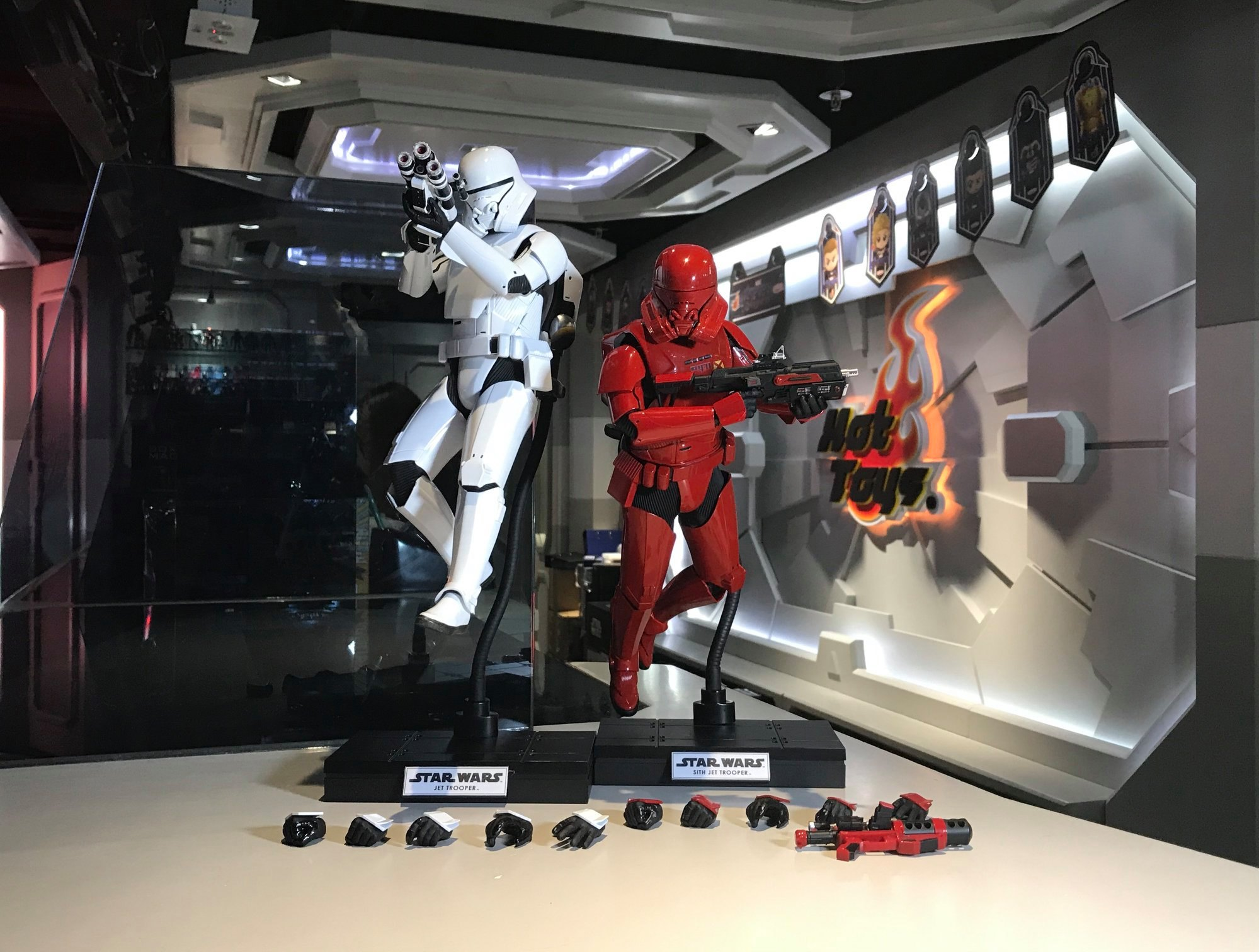 Pre Orders Live Hot Toys 1 6 Scale First Order Jet Trooper And Sith Jet Trooper Figures Drunkwooky Com