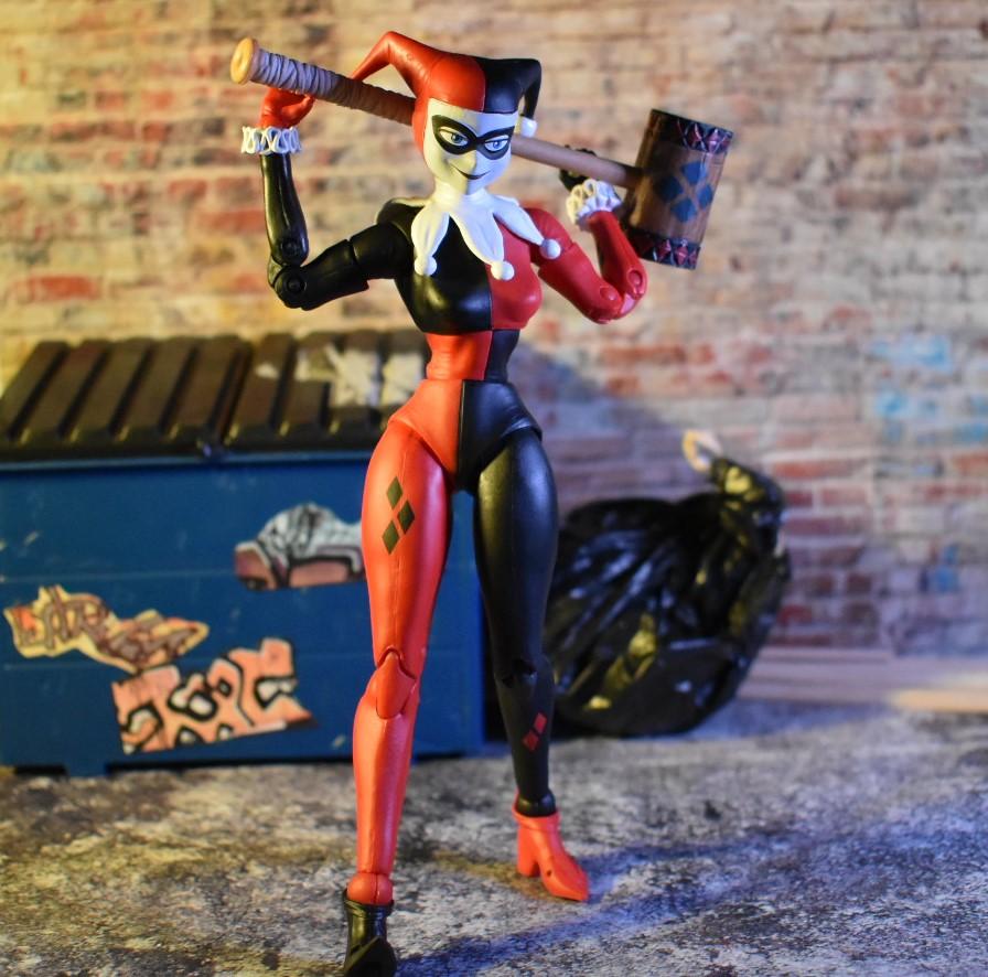 "McFarlane Toys DC Multiverse HARLEY QUINN Loose 7/"" Action Figure 2020"