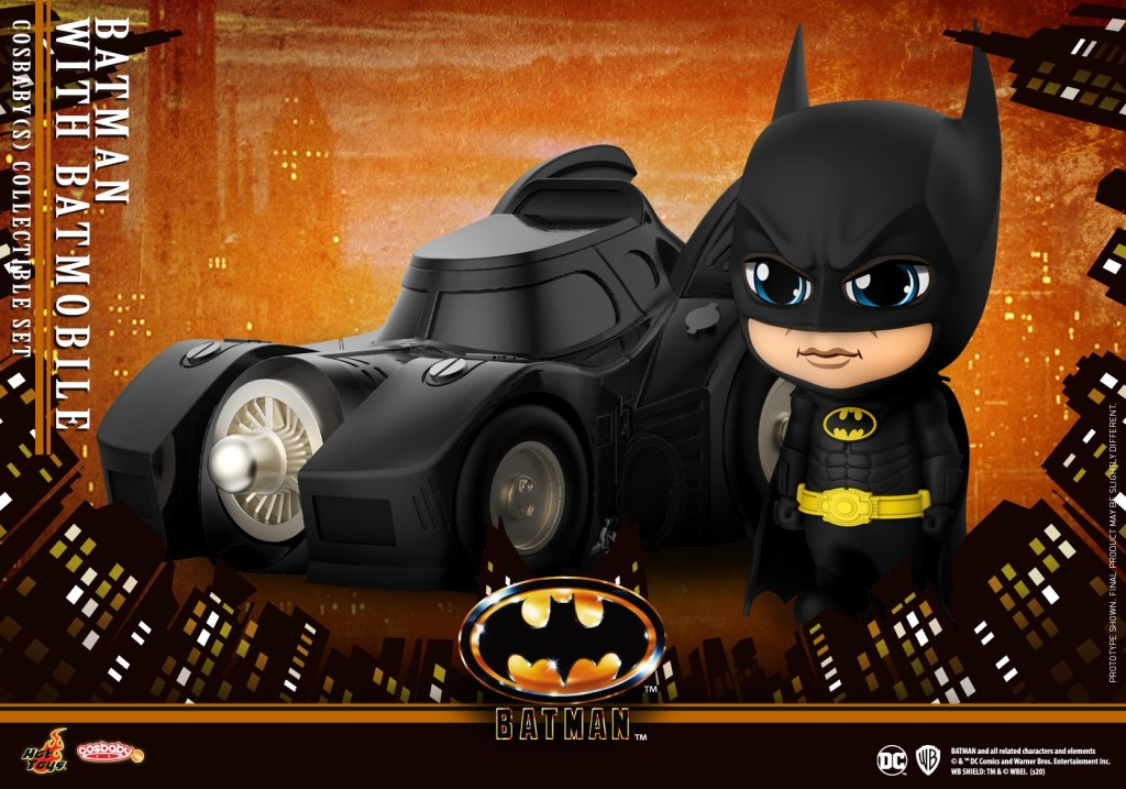 Hot Toys Mini COSBABY Batman Forever COSB719//COSB720 Collectible Figure Doll