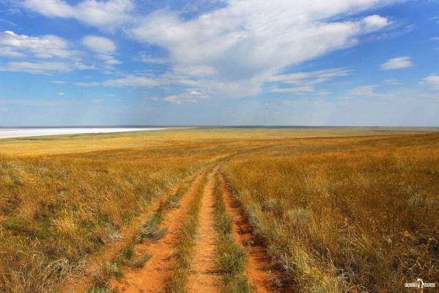 Астраханская степь