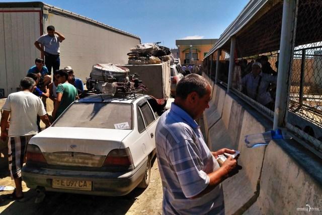 В Узбекистан на своём авто. КПП Тажен - Каракалпакия