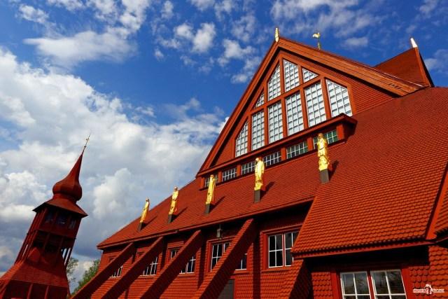 Кируна. Kiruna kyrka. Церковь Кируны