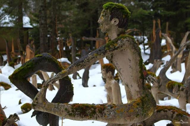 Парк параноидальной скульптуры. Финляндия