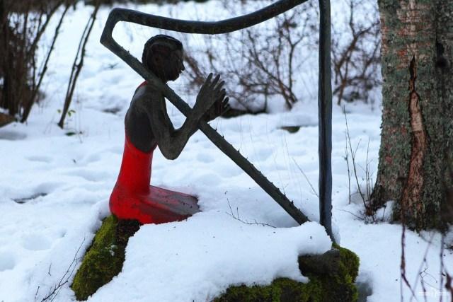Автопутешествие в Парк параноидальной скульптуры. Финляндия