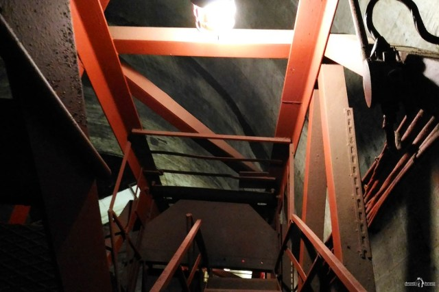 Труба 320 м. Лестница
