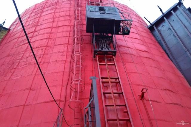 Лифт на трубу 320 метров. Киришская ГРЭС