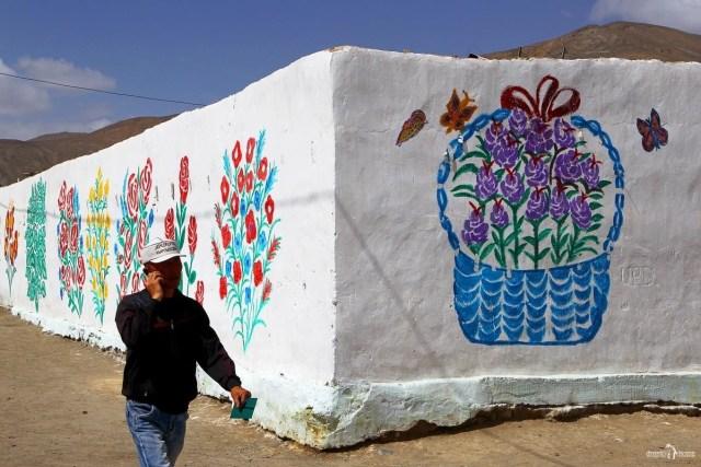 Мургаб. Городское граффити