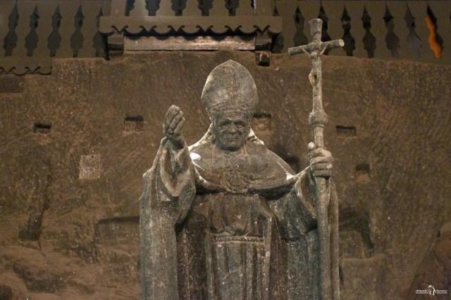 Скудьптура Иоанна Павла II.