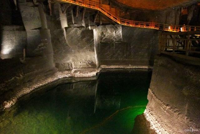 Соляные копи Велички. Подземные озёра