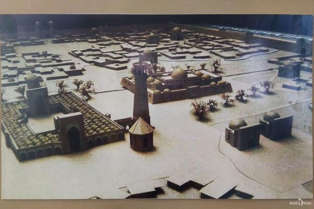 Бурановское городище. Фото реконструкции