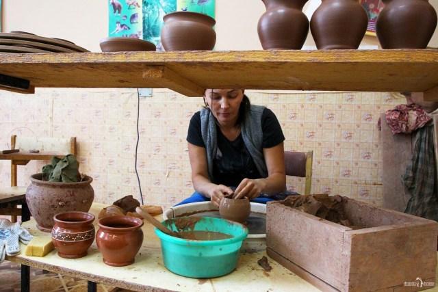 Оятская керамика. Центр возрождения ремёсел в селе Алёховщина