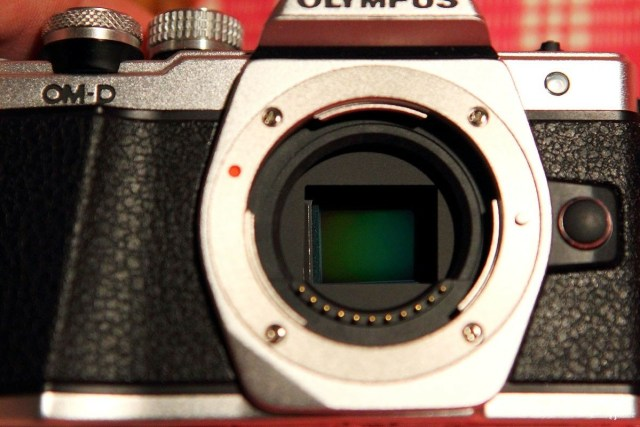 Матрица беззеркального фотоаппарата.Система зеркал отутствует