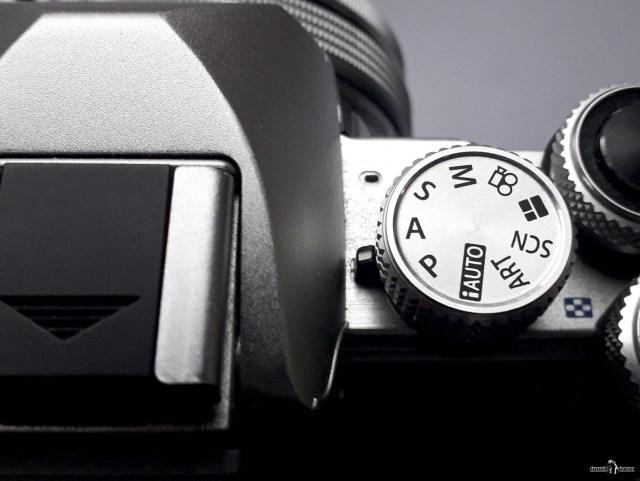 Диск выбора режимов съёмки на камере