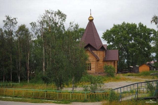 Умба. Воскресенская церковь