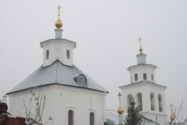 Купола храма Спаса Преображения