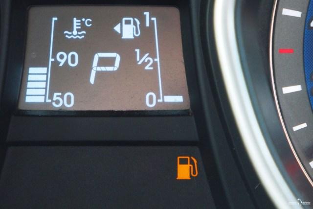 Сколько проедем на резерве топлива. Пиктограмма о низком уровне топлива в баке