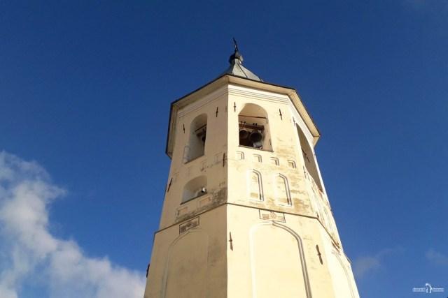 Зеленецкий монастырь. Колокольня