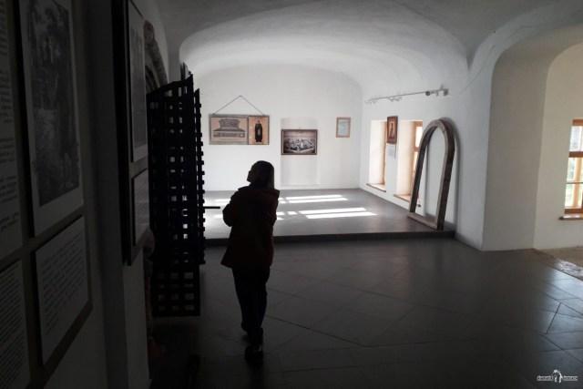 Зеленецкий монастырь. Галерея собора Троицы Живоначальной