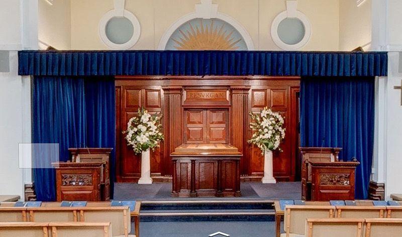 reading crematorium curtain repair camstage