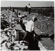 Logor Jasenovac, gradnja logorskog zida-ograde