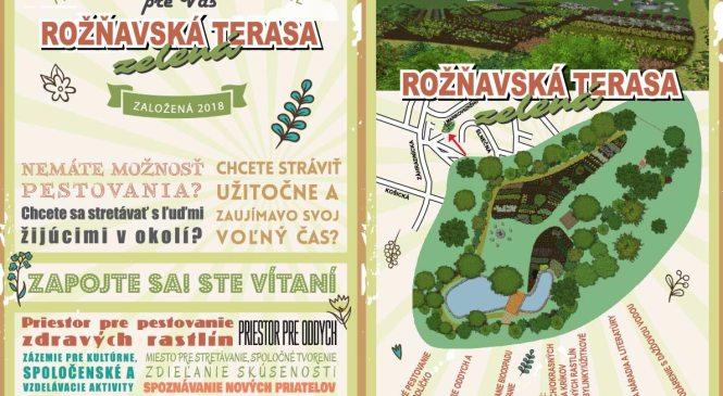 """Projekt """"Rožňavská zelená terasa"""" sa rozbieha"""