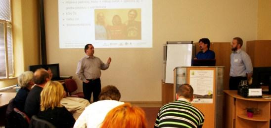 Multiplikačné podujatie vo Zvolene aj s našou prezentáciou