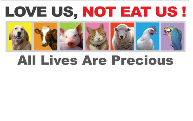 love us, not eat us !