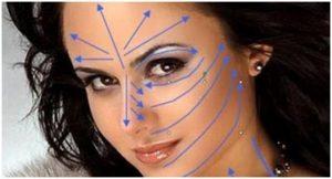 Массажные линии лица (фото) — техники массажа и ...