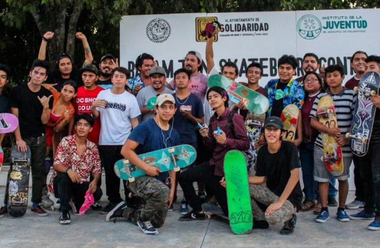 """Solidaridad realiza """"Torneo de Skateboard"""" en favor de la sana convivencia de los jóvenes"""