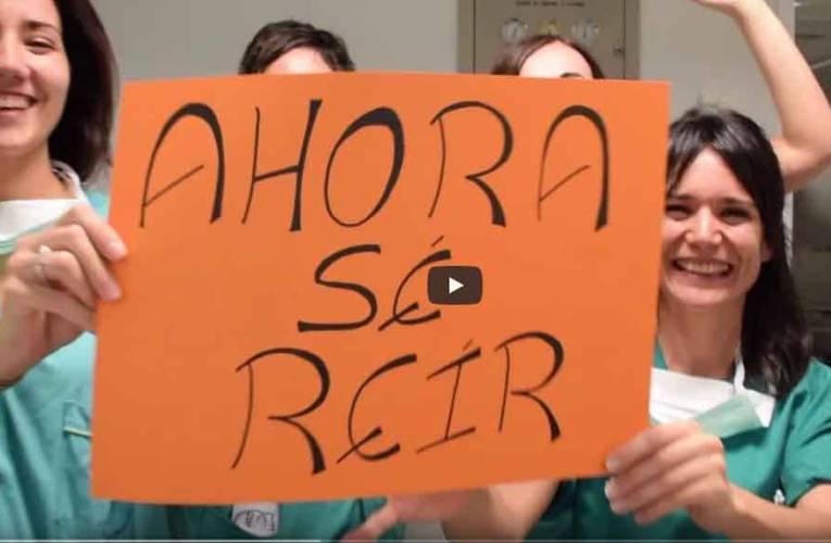 Residentes de un hospital difunden video, sobre la importancia de la vida