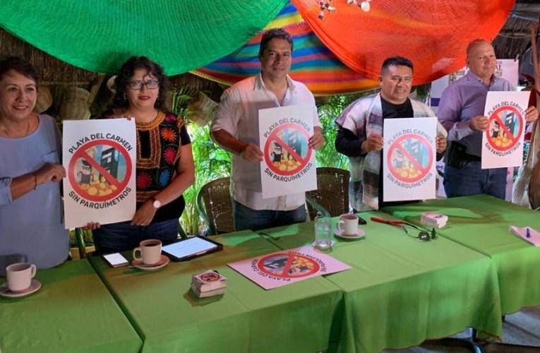 Apoyará Consejo Coordinador Empresarial de la Riviera Maya a ciudadanos afectados por parquímetros