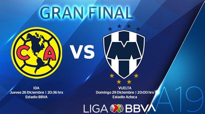 Confirman fechas y horarios de la Final de la Liga MX