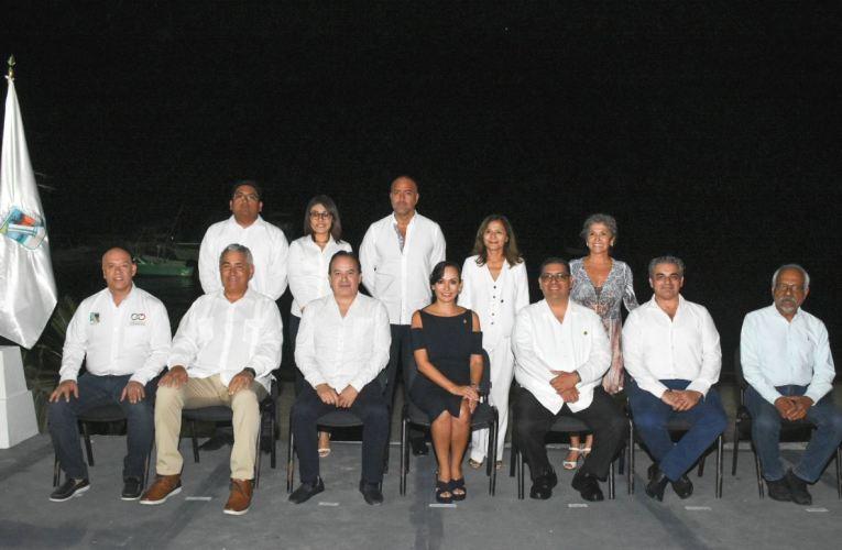 Laura Fernández toma protesta al comité directivo de la AMPI de Puerto Morelos