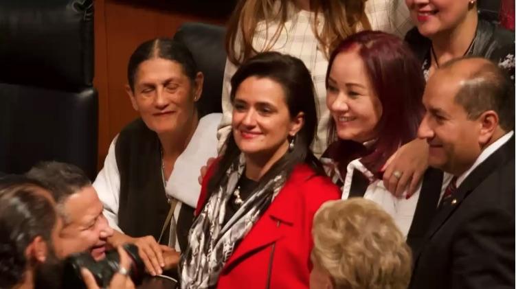AMLO celebra elección de Margarita Ríos-Farjat como ministra de la Suprema Corte