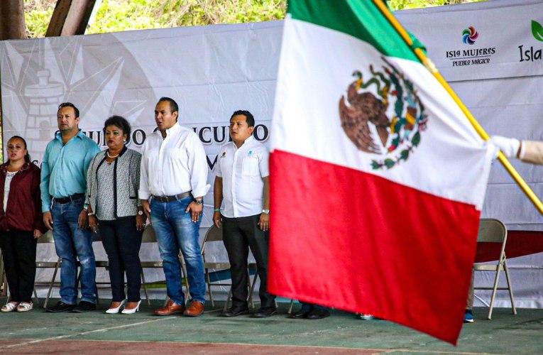 "Impulsa gobierno de Isla Mujeres valores cívicos con ""Segundo Concurso Municipal de Escoltas 2018-2021"""